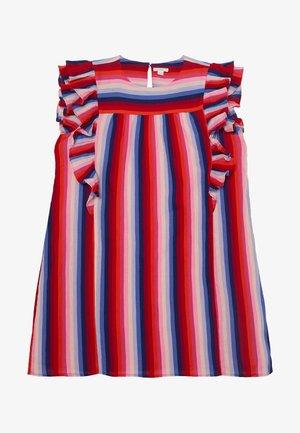 PAT DRESS - Hverdagskjoler - red/indigo