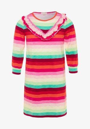 TIFFANY DRESS  - Žerzejové šaty - red/green/multicolor