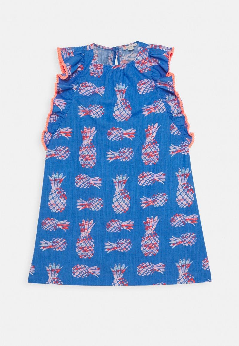J.CREW - PINEAPPLES LILIANA DRESS - Day dress - blue/pink