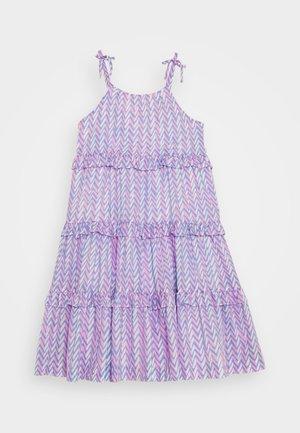 ELISE LONG DRESS - Denní šaty - pink peri