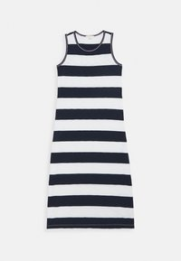 J.CREW - RUGBY MAXI - Day dress - ivory/navy - 0