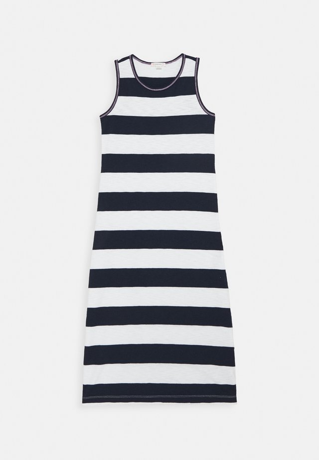 RUGBY MAXI - Day dress - ivory/navy