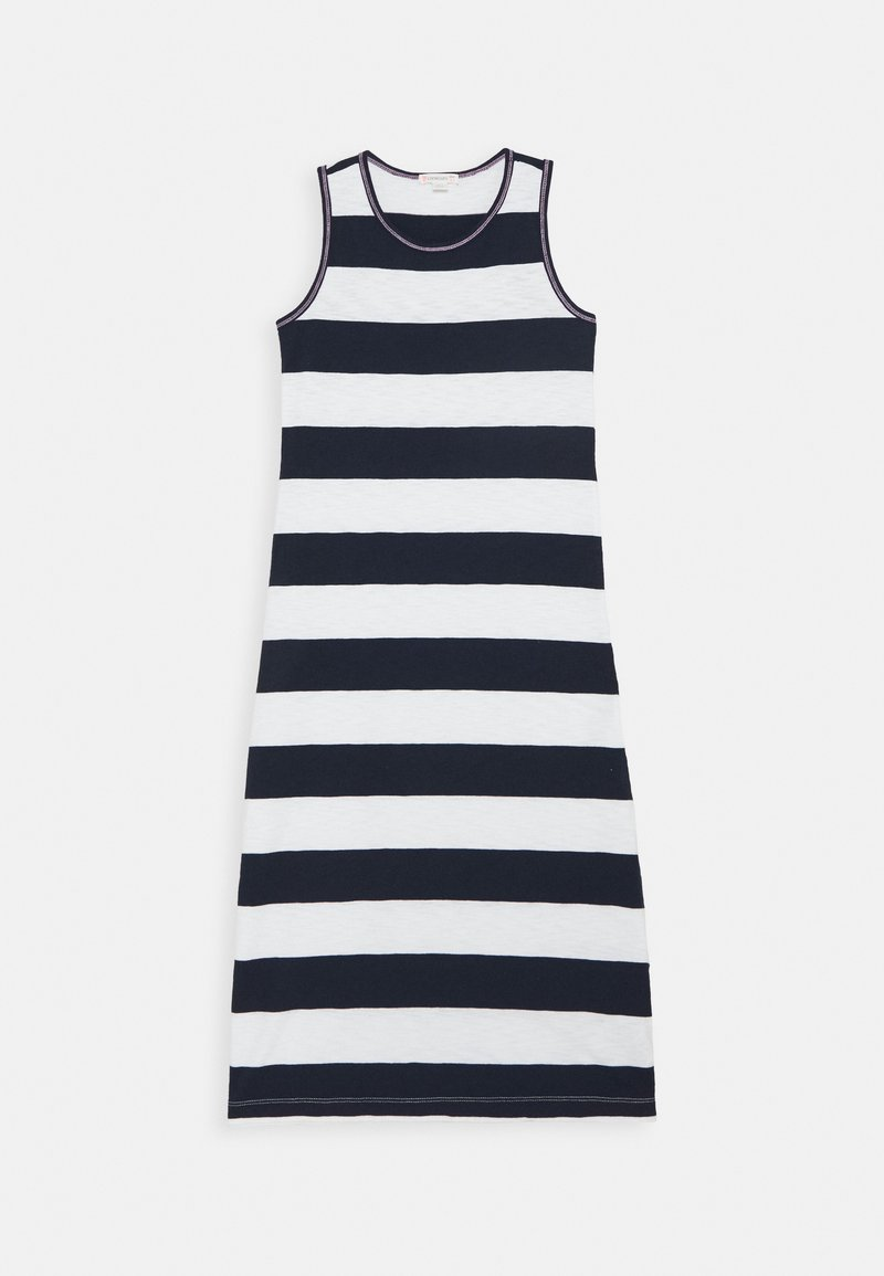 J.CREW - RUGBY MAXI - Day dress - ivory/navy