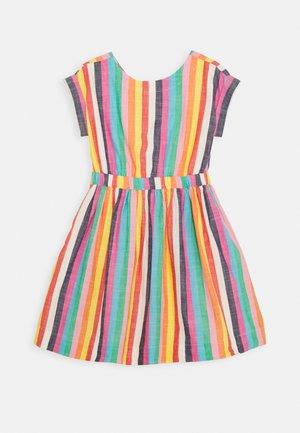 PIA STRIPE DRESS - Denní šaty - ivory/multi