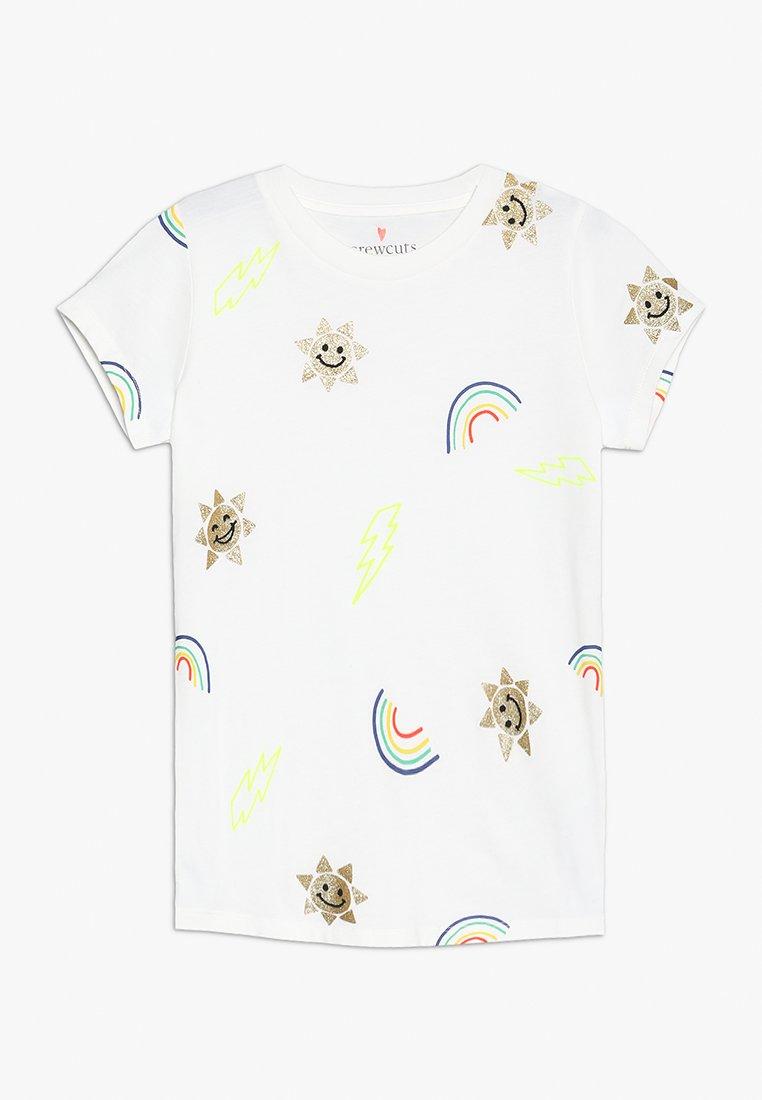 J.CREW - ALL OVER RAINBOW SUNS - T-shirts print - ivory