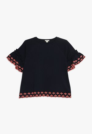 ELIOT - T-shirt z nadrukiem - navy