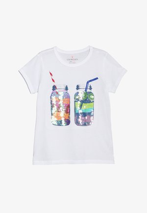 SMOOTHIES  - T-shirt imprimé - white