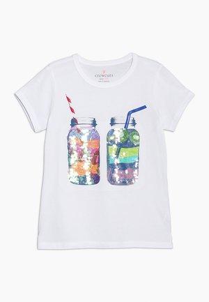 SMOOTHIES  - T-shirt print - white