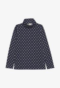 J.CREW - NATALIE TURTLENECK  - T-shirt à manches longues - navy/ivory - 2