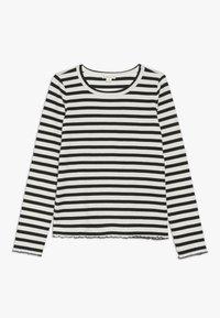 J.CREW - AMANDA  - T-shirt à manches longues - ivory/black - 0
