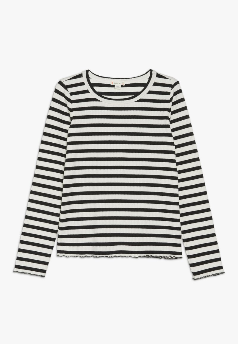 J.CREW - AMANDA  - T-shirt à manches longues - ivory/black