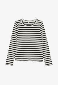 J.CREW - AMANDA  - T-shirt à manches longues - ivory/black - 2