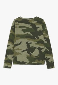 J.CREW - TIE FRONT MAGGIE EVERYDAY - Long sleeved top - tuscan olive - 1