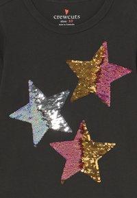 J.CREW - REVERSIBLE STARS - Long sleeved top - black sequin stars - 3