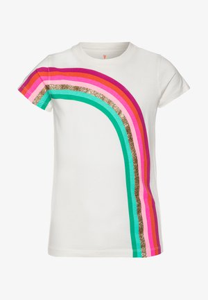 ACROSS RAINBOW TEE - Camiseta estampada - multicolor