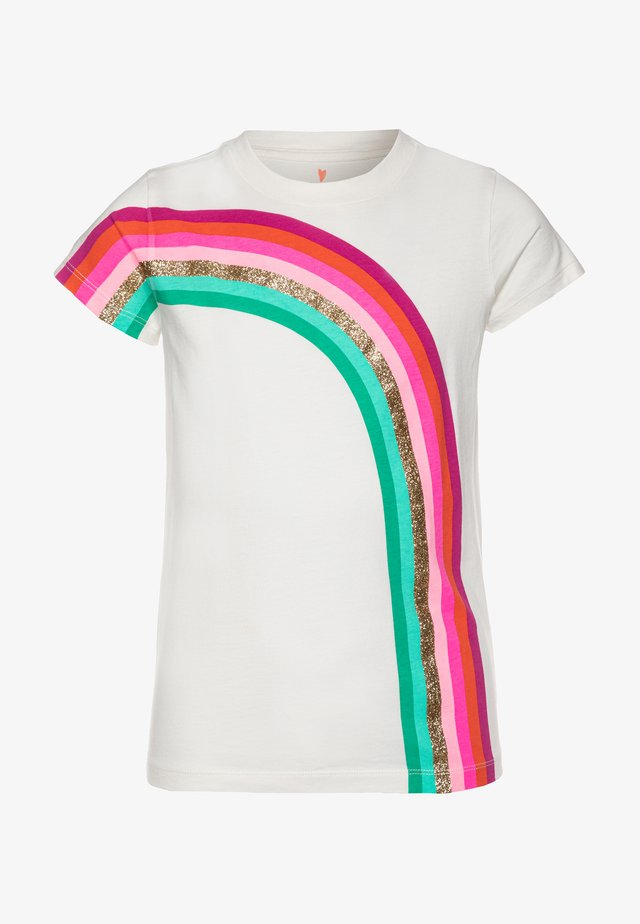 ACROSS RAINBOW TEE - T-shirt con stampa - multicolor