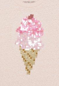 J.CREW - SEQUIN ICE CREAM CONE  - T-shirts med print - pink melange - 3