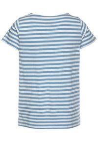 J.CREW - FLOWER EARTH GRAPHIC TEE - Print T-shirt - light blue - 1
