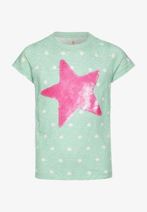 STAR SEQUINGRAPHIC - Print T-shirt - mint