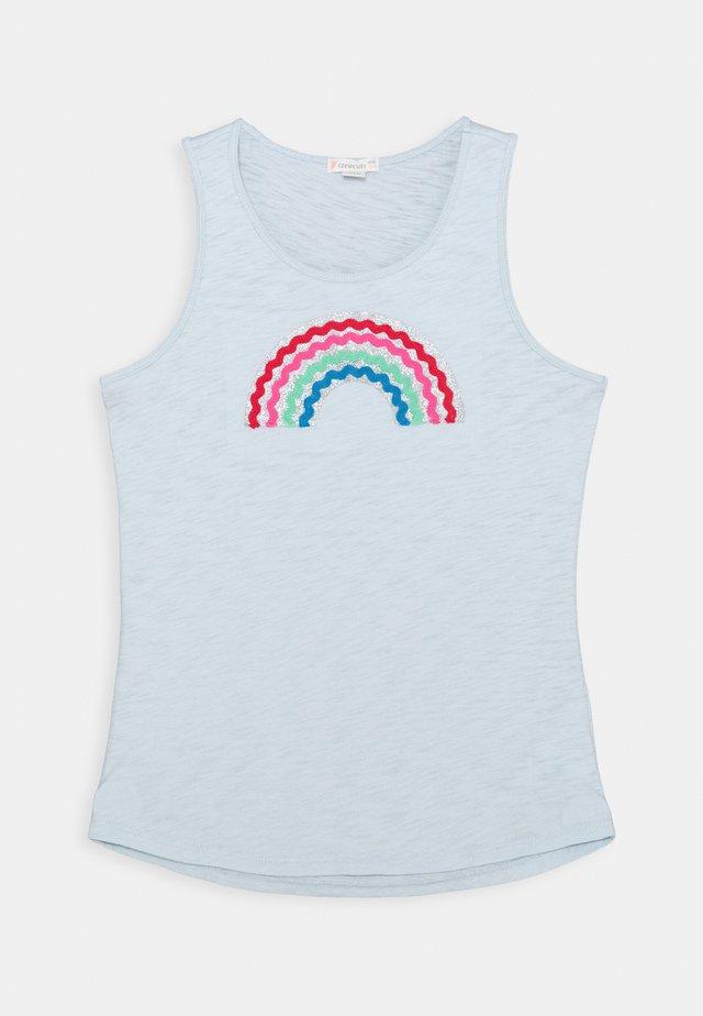 RAINBOW GRAPHIC  - Camiseta estampada - light blue