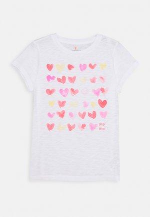 MAMA TEE - Print T-shirt - white