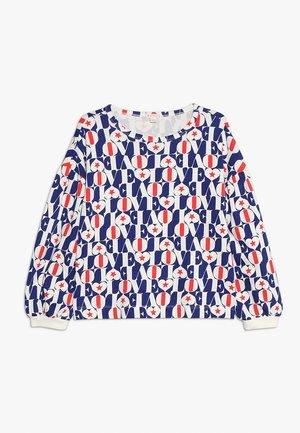 IRIS BABY - Sweatshirt - blue/red