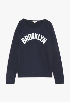BROOKLN POPOVER GRAPHIC - Sweatshirt - dark blue