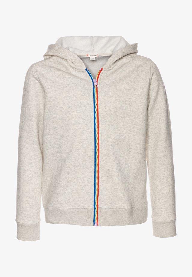 JESSA RAINBOW ZIP HOODIE - Zip-up hoodie - natural indigo