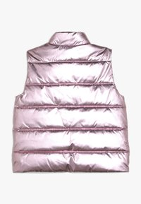 J.CREW - NARIE PUFFER VEST PRINT - Chaleco - metalic/rose gold - 1