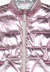 J.CREW - NARIE PUFFER VEST PRINT - Chaleco - metalic/rose gold - 4