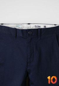 J.CREW - SLIM STRETCH  - Chino - navy - 4