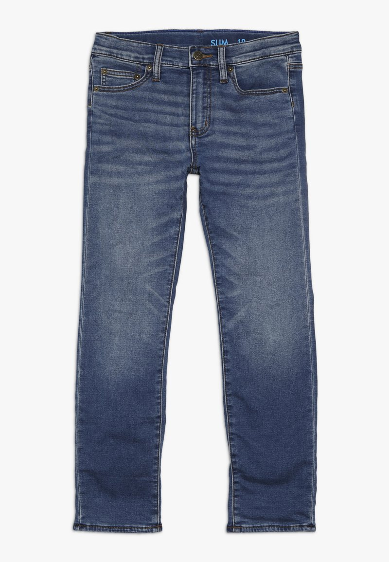 J.CREW - LINED RUNAROUND  - Straight leg jeans - homeroom wash
