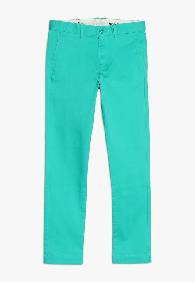 SKINNY FIT STRETCH - Chino - frozen lime