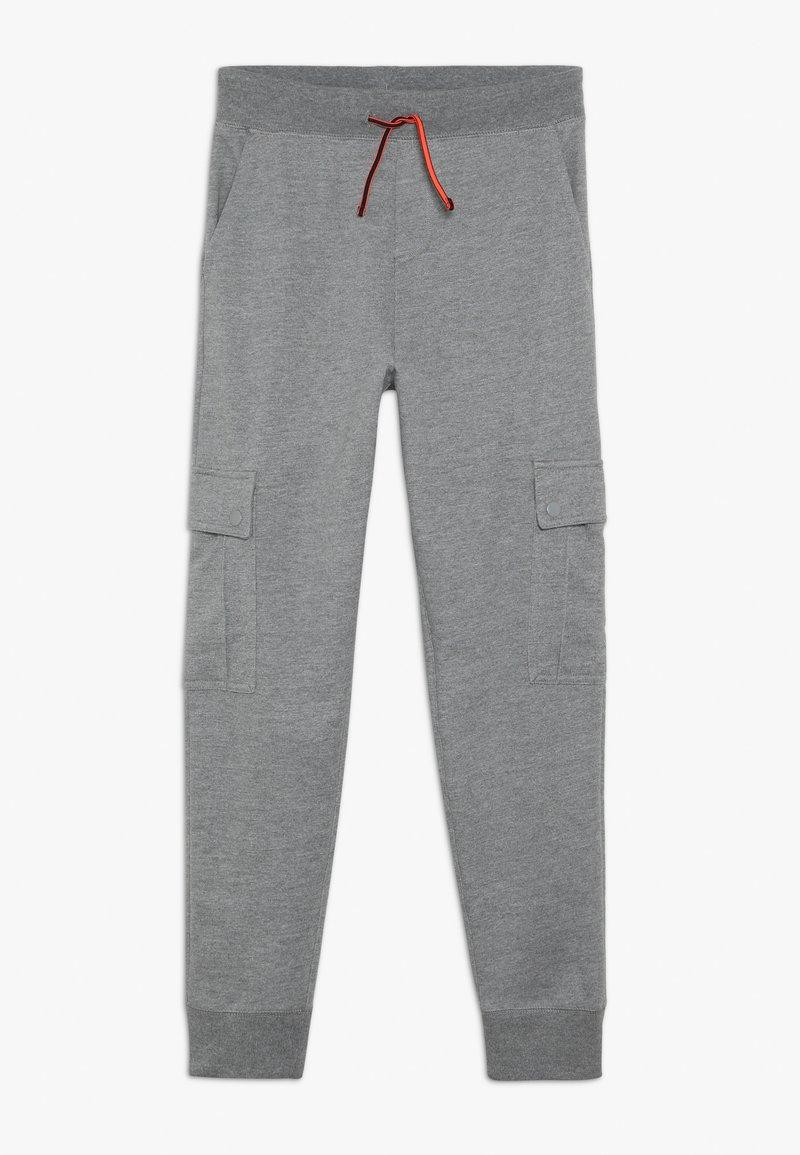 J.CREW - VENICE CARGO PANT - Pantalon de survêtement - mottled grey