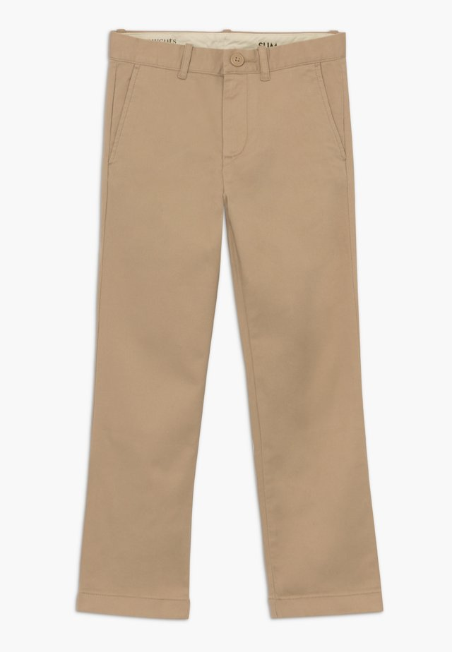 SLIM STRETCH PANT - Chinot - british khaki