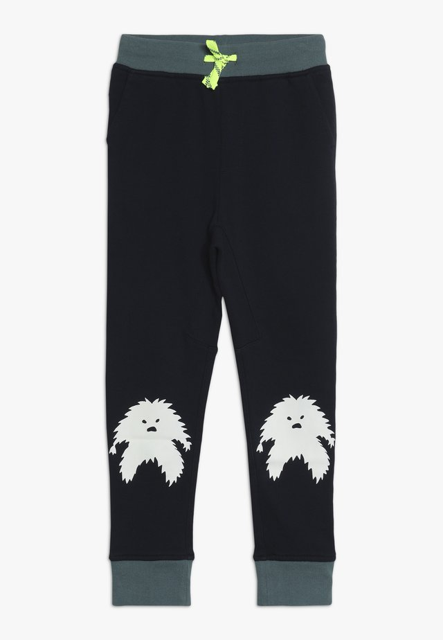 YETI KNEE - Teplákové kalhoty - navy