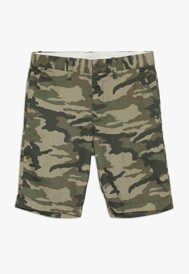 J.CREW - CAMO STANTON  - Shorts - olive