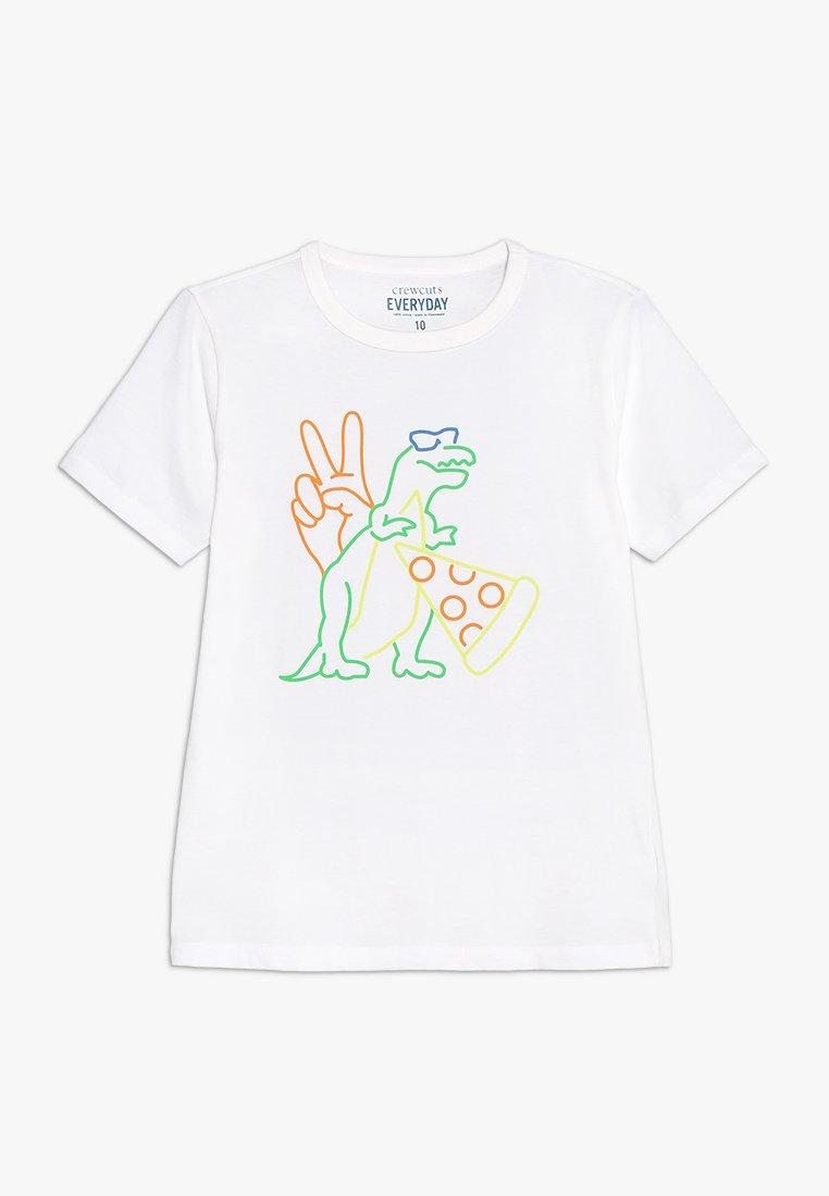 J.CREW - FUN ICONS - T-shirt z nadrukiem - white
