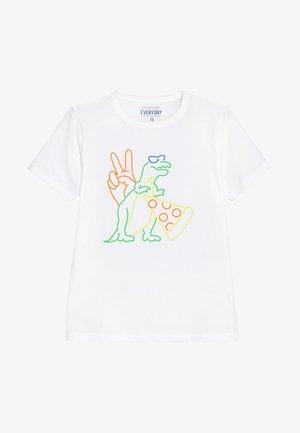 FUN ICONS - Print T-shirt - white
