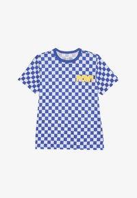 J.CREW - POW SLUB - T-shirt imprimé - blue/white - 2