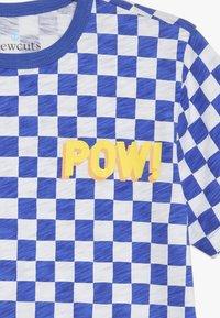J.CREW - POW SLUB - T-shirt imprimé - blue/white - 3