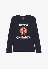 J.CREW - PIZZA ON EARTH - T-shirt à manches longues - dark blue - 2