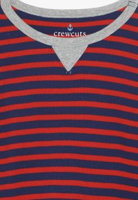 J.CREW - STRIPE WAFFLE - T-shirt à manches longues - blue/red - 4