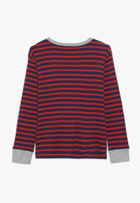 J.CREW - STRIPE WAFFLE - T-shirt à manches longues - blue/red - 1