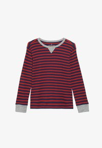 J.CREW - STRIPE WAFFLE - T-shirt à manches longues - blue/red - 3