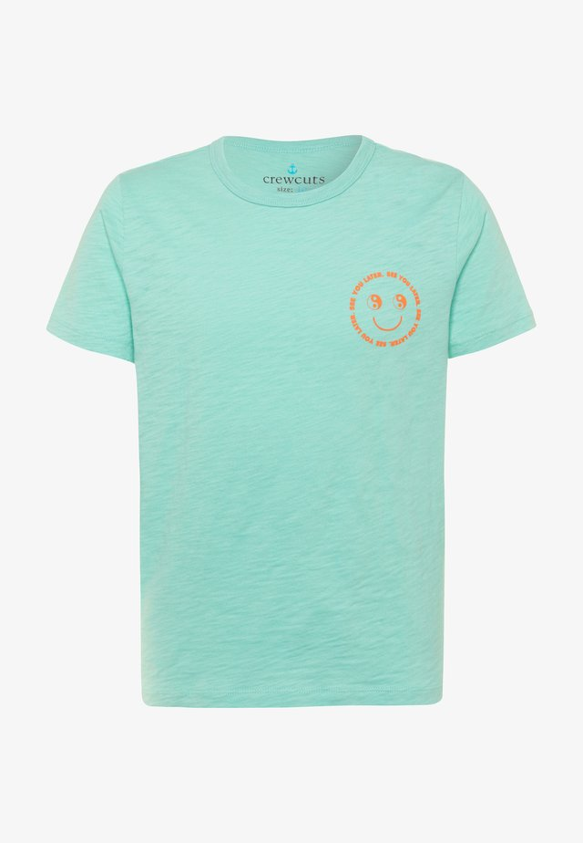 SEE YOU LATER TEE - Print T-shirt - mint