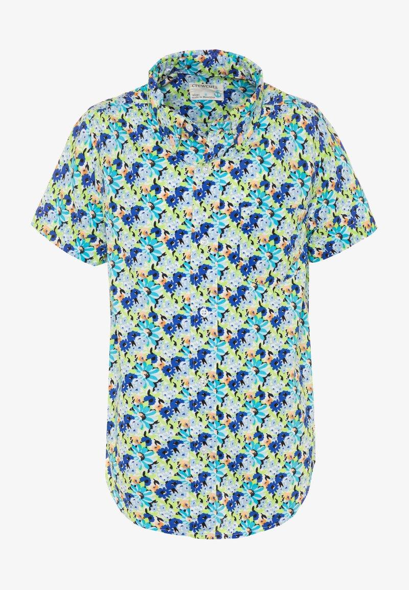 J.CREW - FLORAL - Košile - blue/multicolor