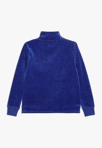 J.CREW - HALF ZIP POPOVER - Sweatshirt - brilliant sapphire - 1