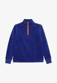 J.CREW - HALF ZIP POPOVER - Sweatshirt - brilliant sapphire - 3