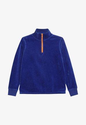 HALF ZIP POPOVER - Sweatshirt - brilliant sapphire